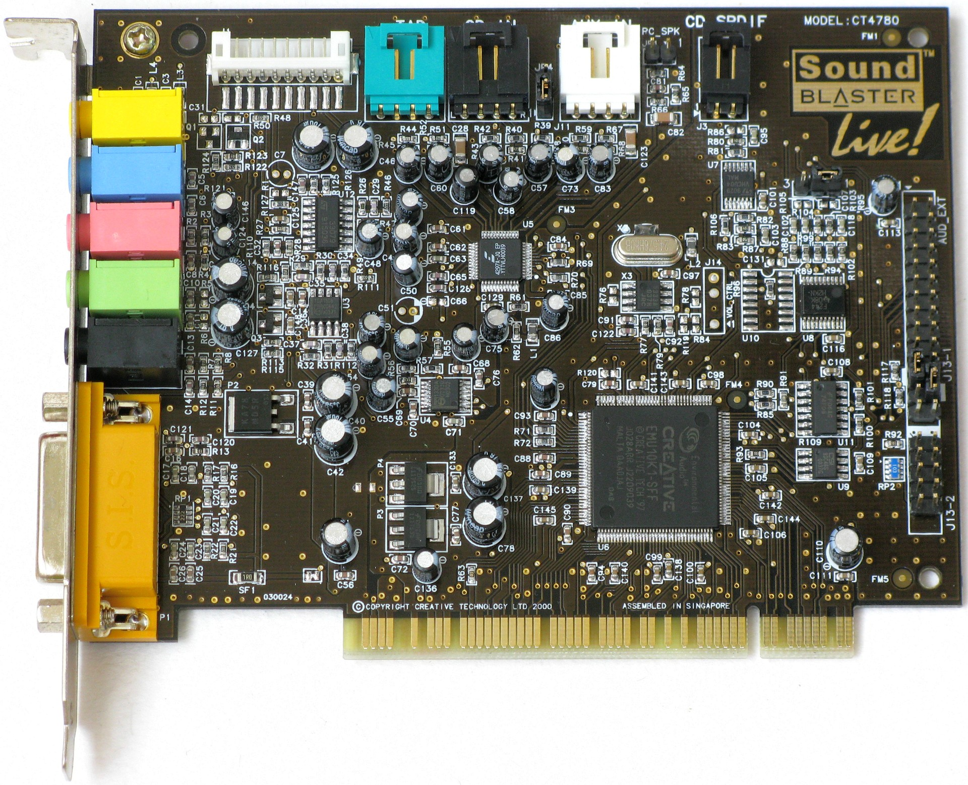 SOUND BLASTER LIVE CT DRIVERS DOWNLOAD