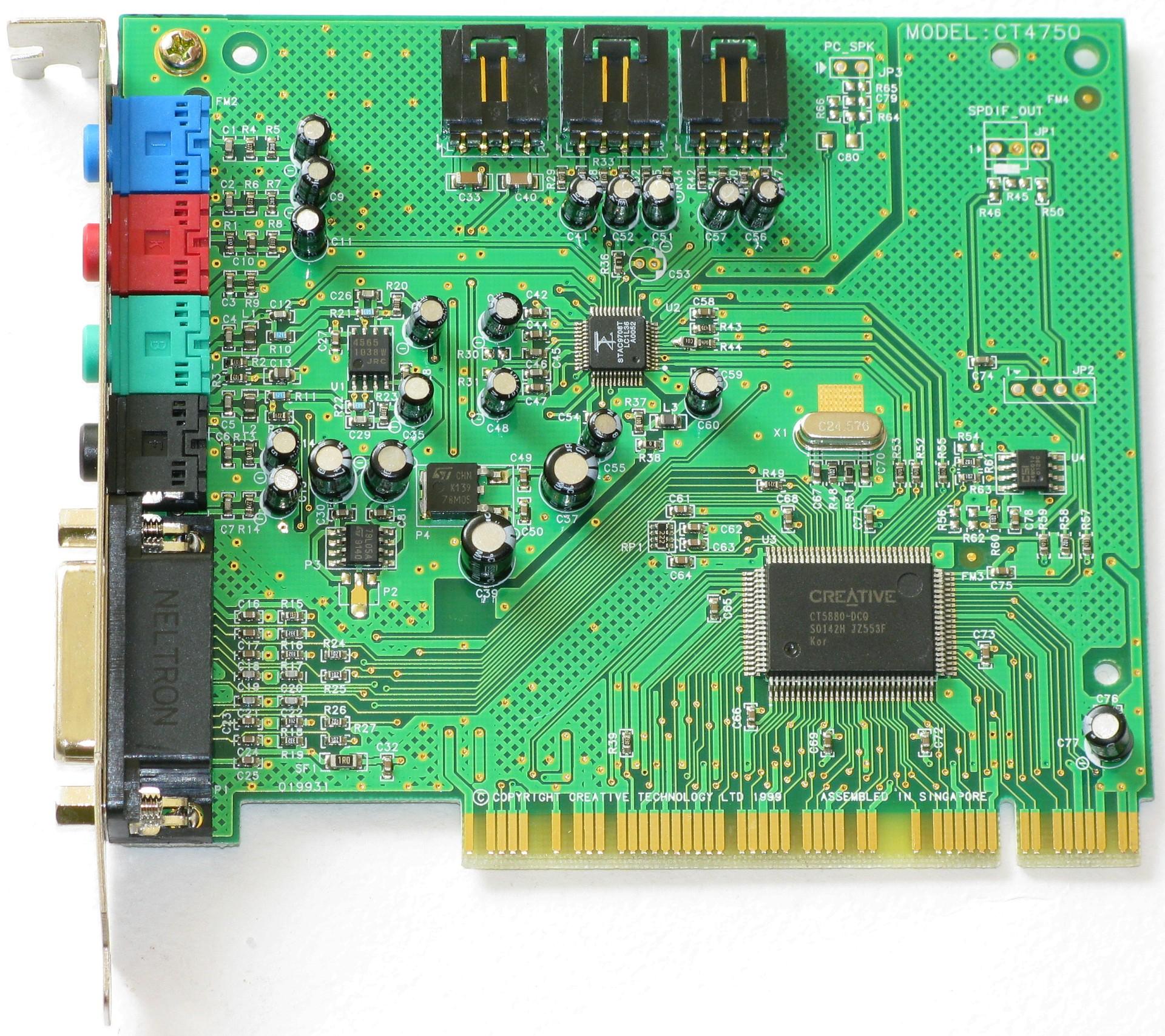 Creative SB Creative PCI PCI CT drivers