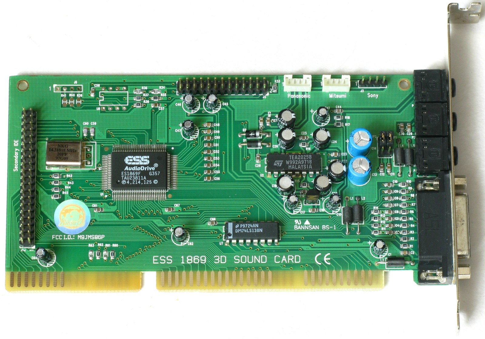 Ess es1938s sound card driver win7