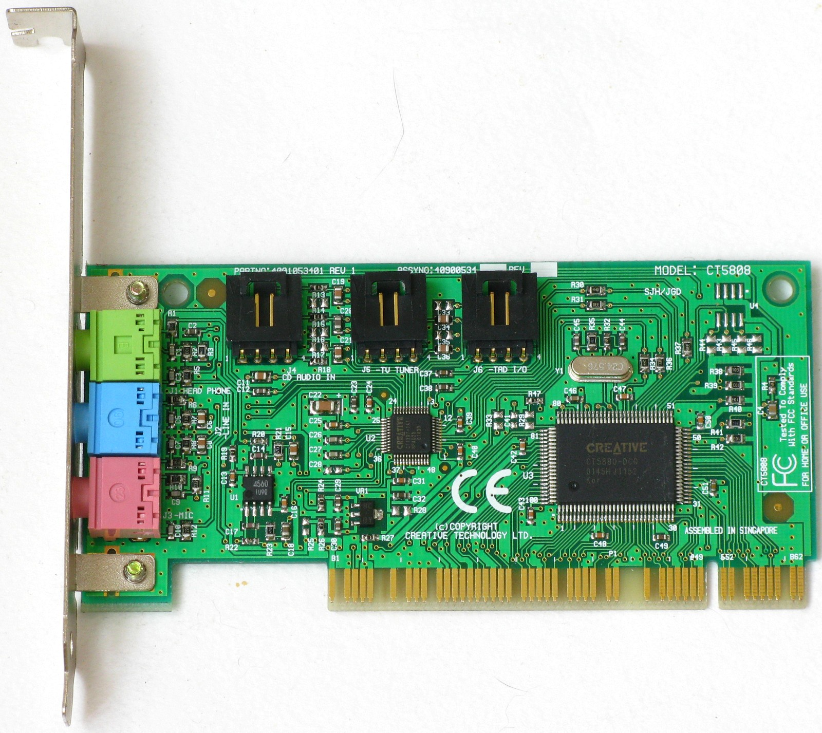 DRIVER FOR CREATIVE CT5808